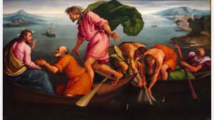 Miraculous Draught of Fishes by Jacopo Bassano