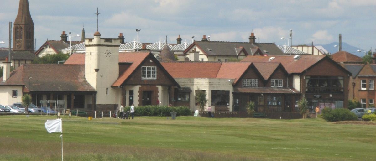 Troon Links clubhouse