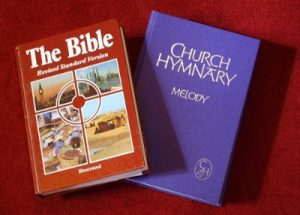 RSV Bible and Church Hymnary 4