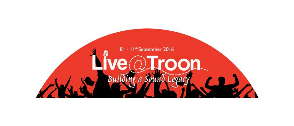 Live@Troon 8 to 11 September 2016