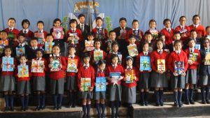 Junior prizegiving at Dr Graham's Homes, Kalimpong, India, 2015