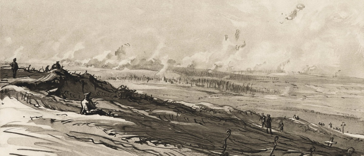 The Battle of the Somme by Muirhead Bone
