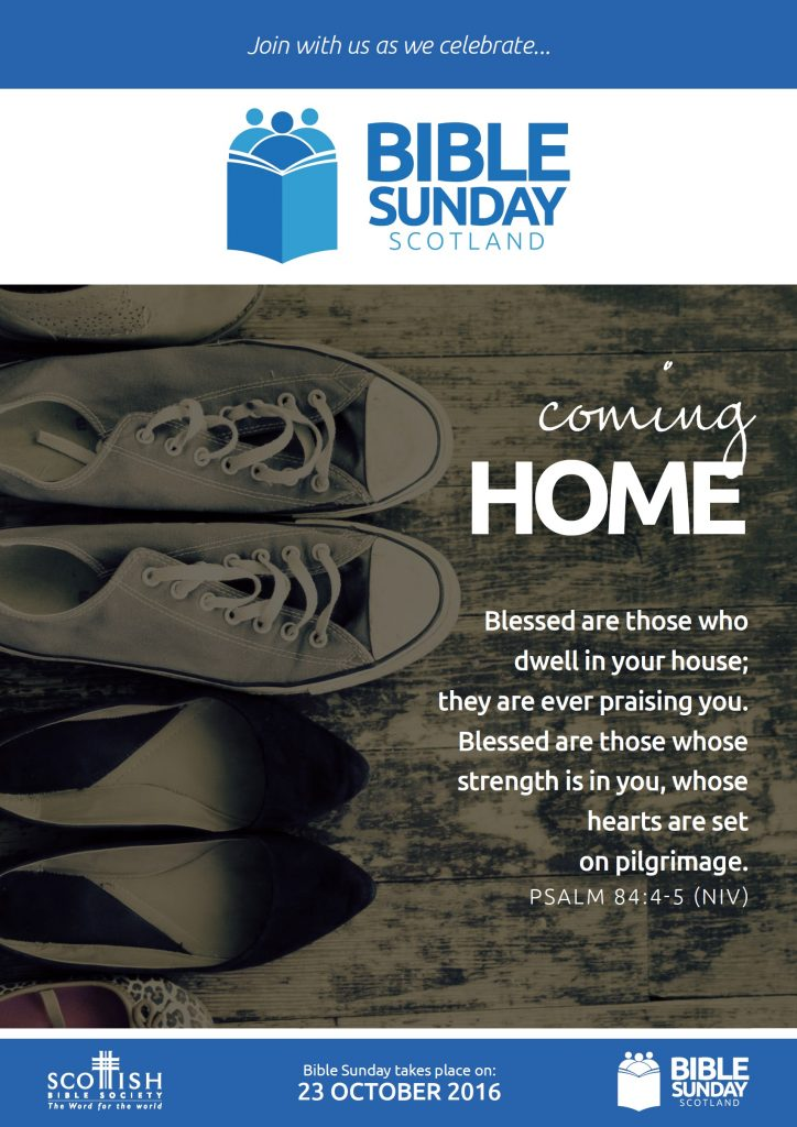 Bible Sunday 2016 poster