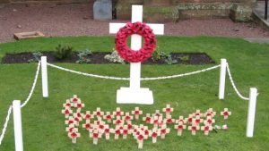 Garden of Remembrance at Troon Old Parish Church