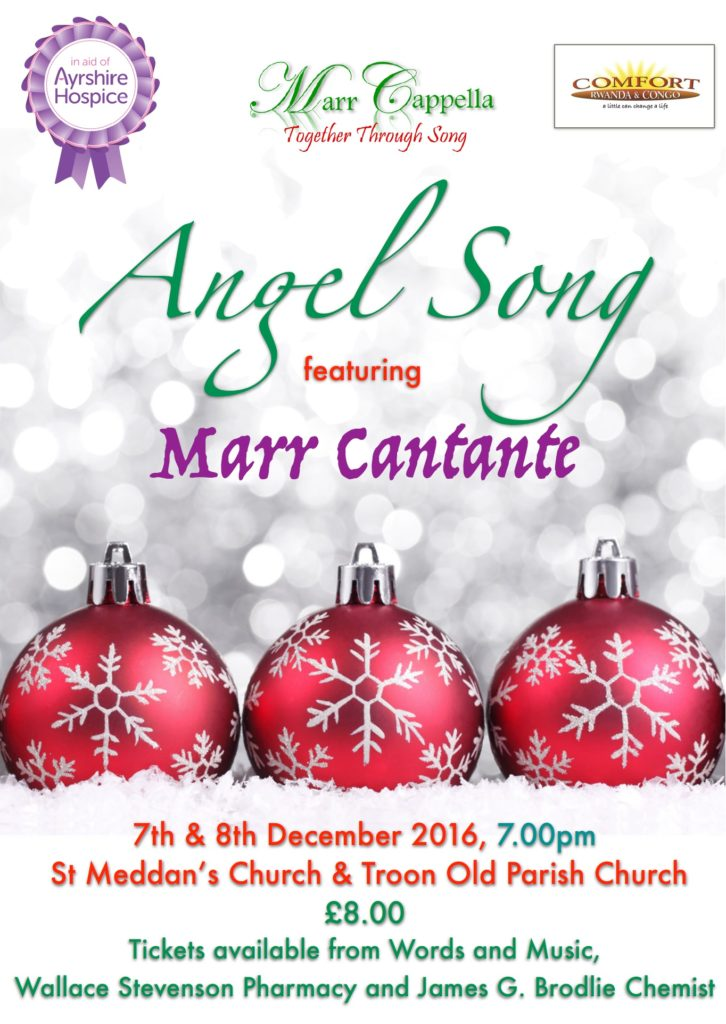 Angel Song by Marr Cappella and Marr Cantante poster