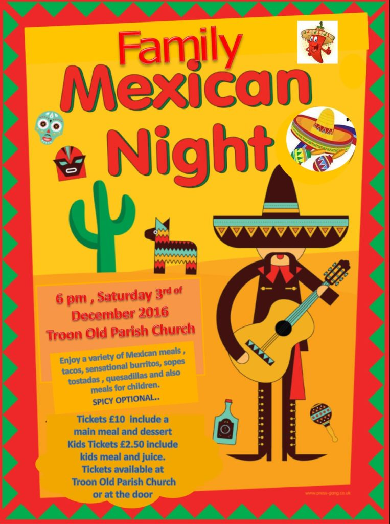 Family Mexican Night 2016 poster