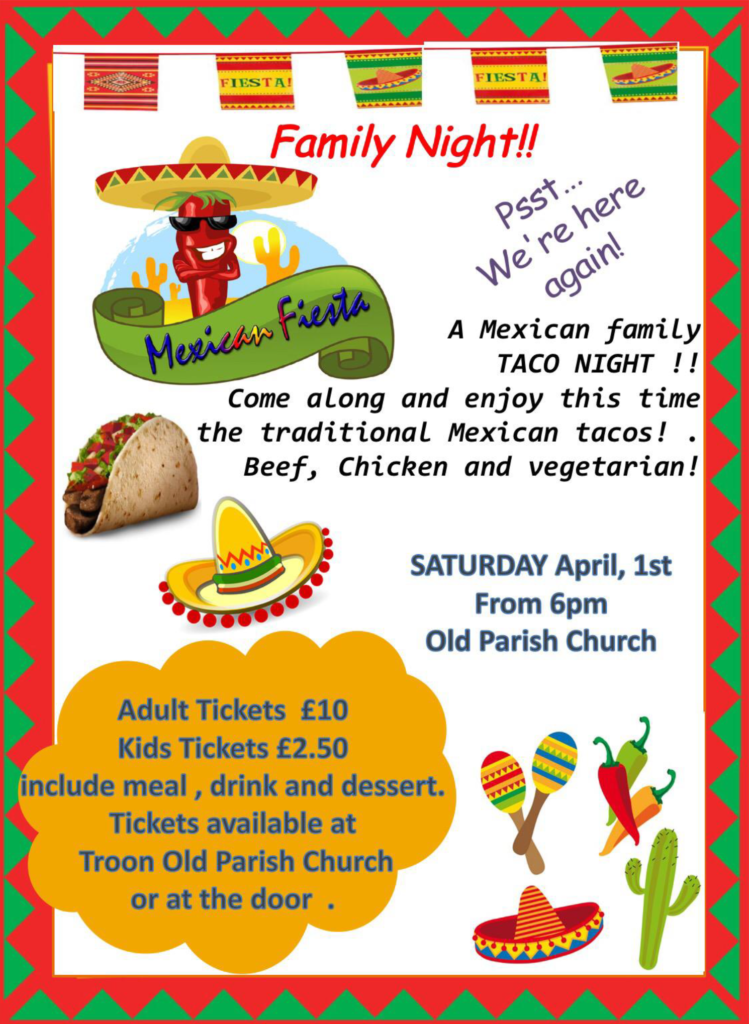 Mexican Family Taco Night 2017 poster