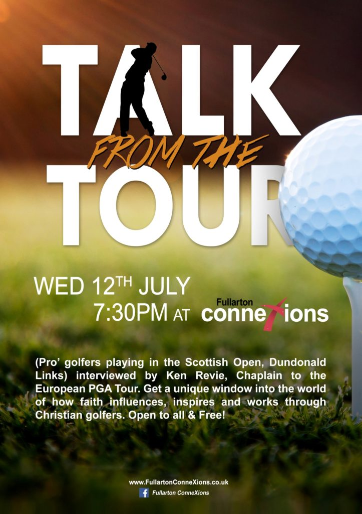 Talk from the Tour 12 July 2017 poster