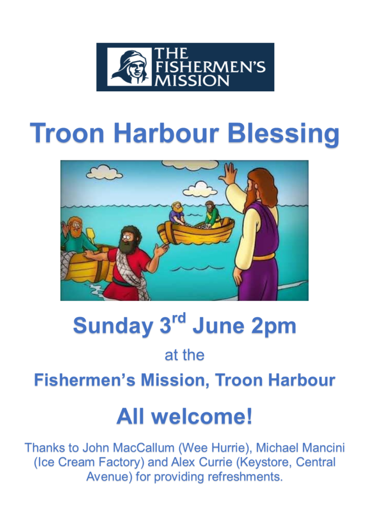 Troon Harbour Blessing 2018 poster