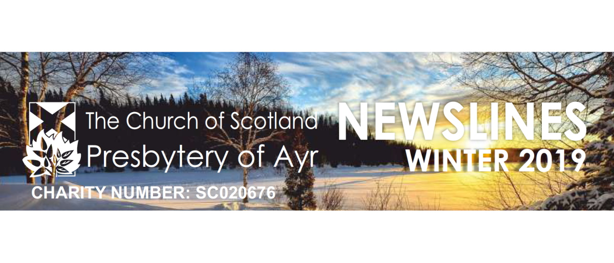 Presbytery of Ayr Newslines Winter 2019