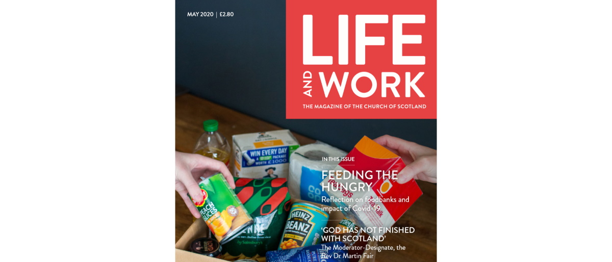 Life and Work May 2020 front cover