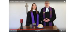 Worship for Maundy Thursday 2020 - Rev Mary Elizabeth Prentice-Hyers and Rev Dave Prentice-Hyers