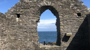 St Ninian's Chapel, Isle of Whithorn, 11 May 2021